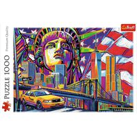 Colours of New York 1000 Piece Jigsaw Puzzle