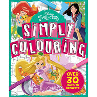 Disney Princess: Simply Colouring
