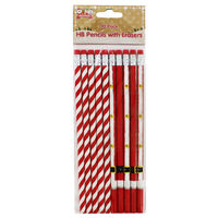 Christmas Pencils: Pack Of 10