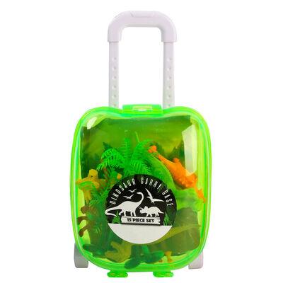 Assorted Mini Dinosaur Carry Case Set image number 1
