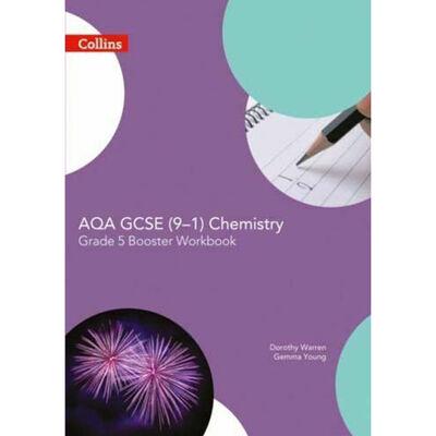 AQA GCSE Chemistry (9-1) Grade 5 Booster Workbook image number 1