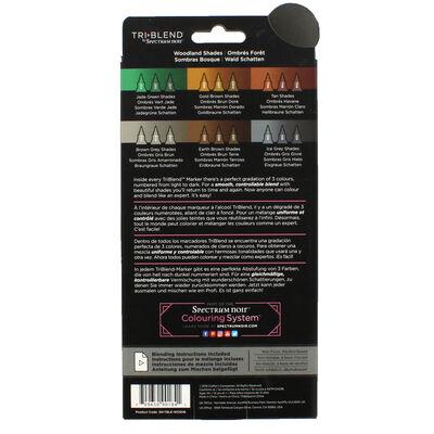Spectrum Noir TriBlend - Woodland Shades - 6 Pack image number 2