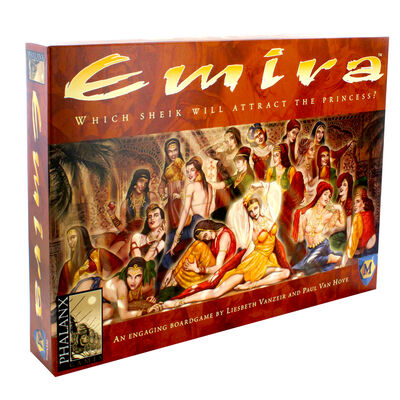 Emira Strategy Board Game image number 1