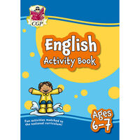 English Activity Book: Ages 6-7
