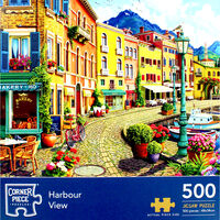 Harbour View 500 Piece Jigsaw Puzzle