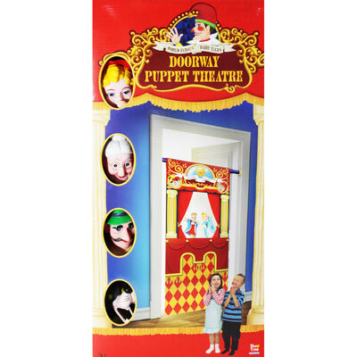 Little Red Riding Hood Doorway Puppets Theatre image number 2