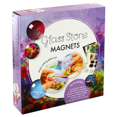 Glass Stone Magnets image number 1