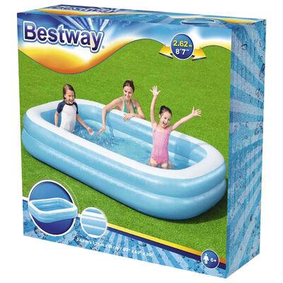 Rectangular Family Paddling Pool image number 2