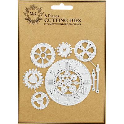 Clock 8 Piece Metal Cutting Die Set image number 1