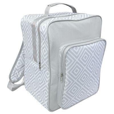 Backpack Cool Grey Bag Geo 17L image number 1