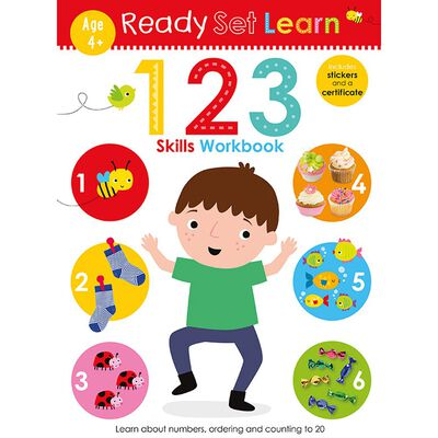 Ready Set Learn: 123 Skills Workbook image number 1