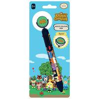 Animal Crossing Villager Squares Multi-Coloured Pen