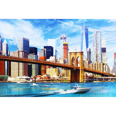 View Of New York 500 Piece Jigsaw Puzzle image number 4