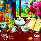 Time for Tea 500 Piece Jigsaw Puzzle image number 1