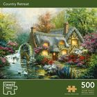 Country Retreat 500 Piece Jigsaw Puzzle image number 1