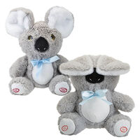Peekaboo Koala Dual-Function Plush: 23cm