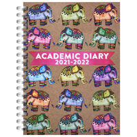 A5 Elephant 2021-2022 Day a Page Diary