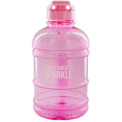 Pink I Dont Sweat 1.8 Litre Water Bottle image number 1