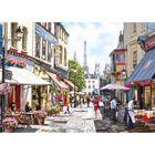 Paris Street Cafés 500 Piece Jigsaw Puzzle image number 2