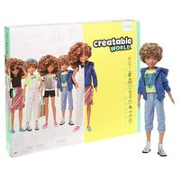 Creatable World Deluxe Character Kit: Blonde Curly Hair