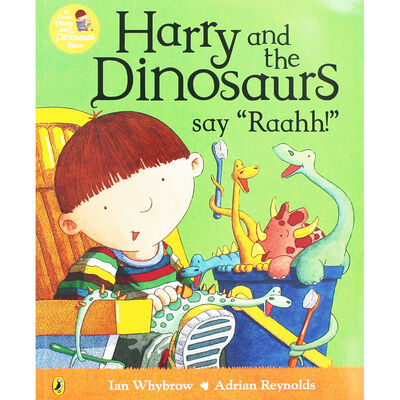 """Harry and the Dinosaurs Say """"Raahh!"""" image number 1"""
