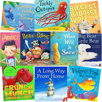 Pirates in Pyjamas: 10 Kids Picture Books Bundle image number 1