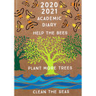 A5 Help the Bees Day a Page 2020-21 Academic Diary image number 1