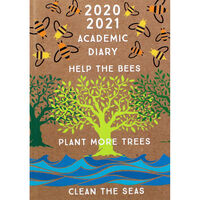 A5 Help the Bees Day a Page 2020-21 Academic Diary