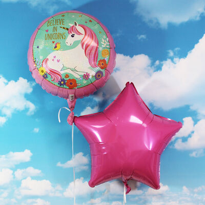 18 Inch Unicorn Helium Balloon image number 4