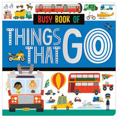 Busy Book of Things That Go image number 1