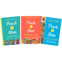 Pinch of Nom Cooking 3 Book Bundle