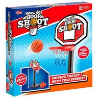 Moving Hoop Shoot Game