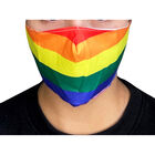 Rainbow Reusable Face Covering image number 3