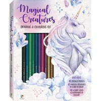 Magical Creatures Colouring and Drawing Kit