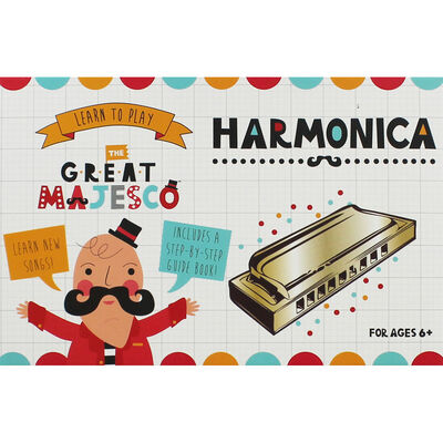 Learn To Play Harmonica Set image number 1