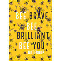 A5 Bee Brave Notebook