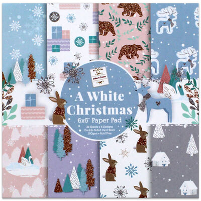 A White Christmas Paper Pad image number 1