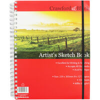 Artist Sketch Book -  9 x 12 Inches