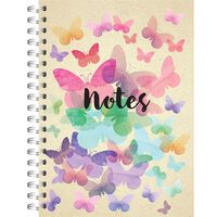 A5 Wiro Butterfly Notebook