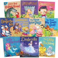 Fairytale Classics: 10 Kids Picture Books Bundle