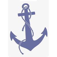 Crafters Companion Nautical Collection 3d Embossing Folder - Anchor