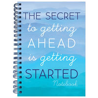 A4 Secret To Getting Ahead Notebook