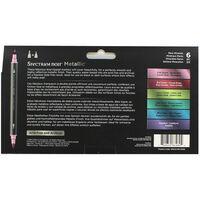 Spectrum Noir 6 Metallic Markers: Rare Minerals