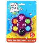 Mega Pop 'N' Spin Bubble Popping Fidget Game: Assorted image number 3