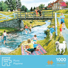Picnic Playtime 1000 Piece Jigsaw Puzzle image number 1