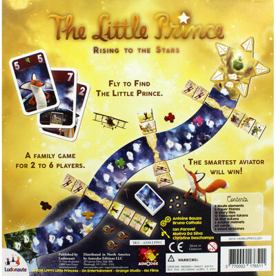 The Little Prince - Rising To The Stars Board Game image number 4