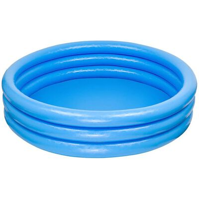 Intex Inflatable Three Ring Paddling Pool and Outdoor Toys Bundle image number 5