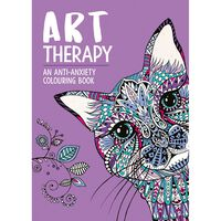 Art Therapy Anti-Anxiety Colouring Book