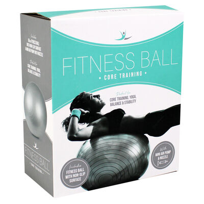 Grey Fitness Ball - 65cm image number 1