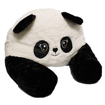 Black White Panda Plush Sofa Snuggles image number 2